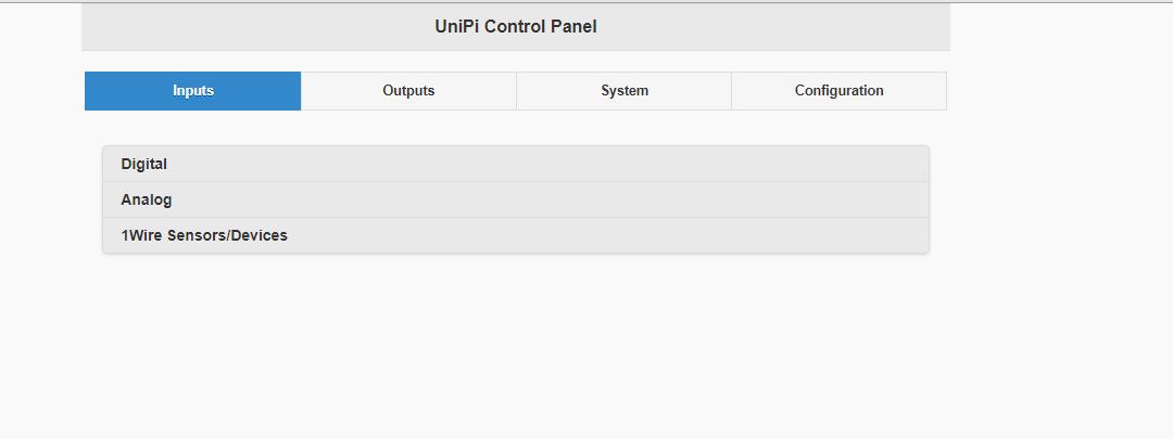 All ports disappear via webinterface after EVOK update on L203